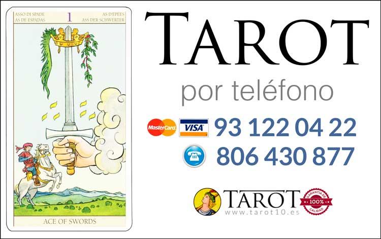 As de Espadas de los Arcanos Menores del Tarot - Tarot por Teléfono