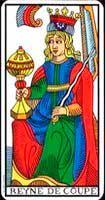 Atributos de la Reina de Copas - Tarot10