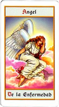 El Ángel de la Enfermedad - Tarot10
