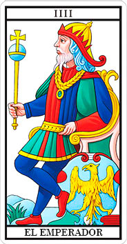 El Emperador - Arcanos Mayores - Tarot Telefónico