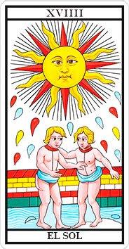 El Sol - Arcanos Mayores - Tarot Telefónico