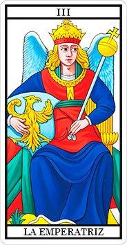 La Emperatriz - Arcanos Mayores - Tarot Telefónico
