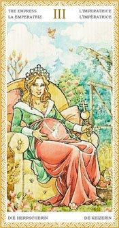 La Emperatriz - Arcanos Mayores del Tarot Dorado