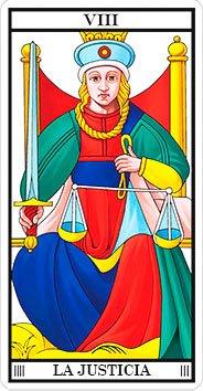 La Justicia - Arcanos Mayores - Tarot Telefónico