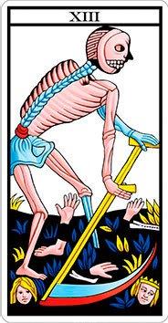 La Muerte - Arcanos Mayores - Tarot Telefónico