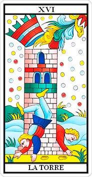 La Torre - Arcanos Mayores - Tarot Telefónico