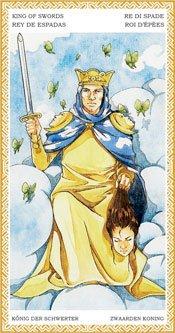 Rey de Espadas - Arcanos Menores del Tarot