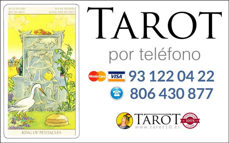Rey de Oros de los Arcanos Menores del Tarot - Tarot por Teléfono