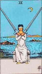 Significado del 2 de Espadas - Tarot10