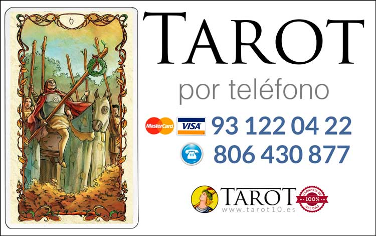 Tirada de Tarot del Abanico - Tarot Telefónico - Tarot10