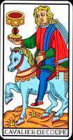 Caballo de copas de los Arcanos Menores del tarot - Tarot10