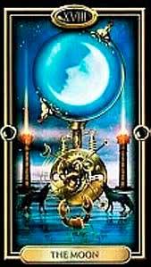 La Luna de los Arcanos Mayores - Tarot telefonico