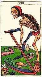 La Muerte en posición inversa - Arcanos Mayores del Tarot - Tarot10