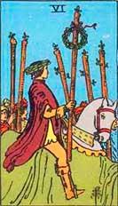 Simbología del 6 de Bastos - Tarot10