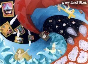 cuatro estados de la mente - tarot Osho Zen - Tarot10