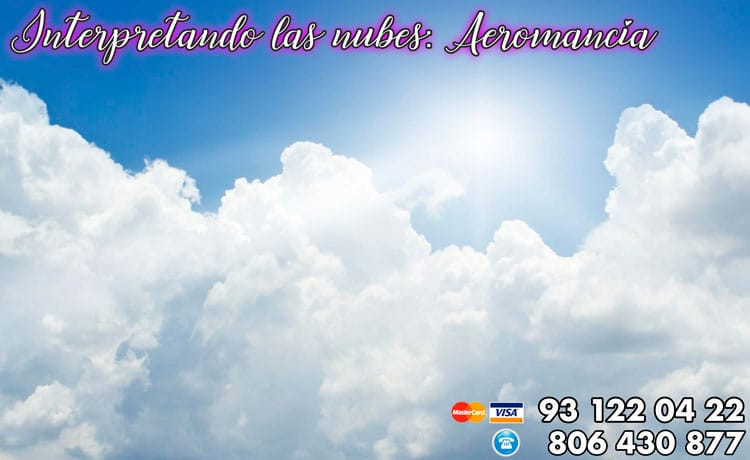 Interpretando las nubes- aeromancia
